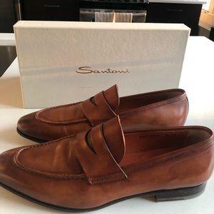 Santoni men's dress shoes